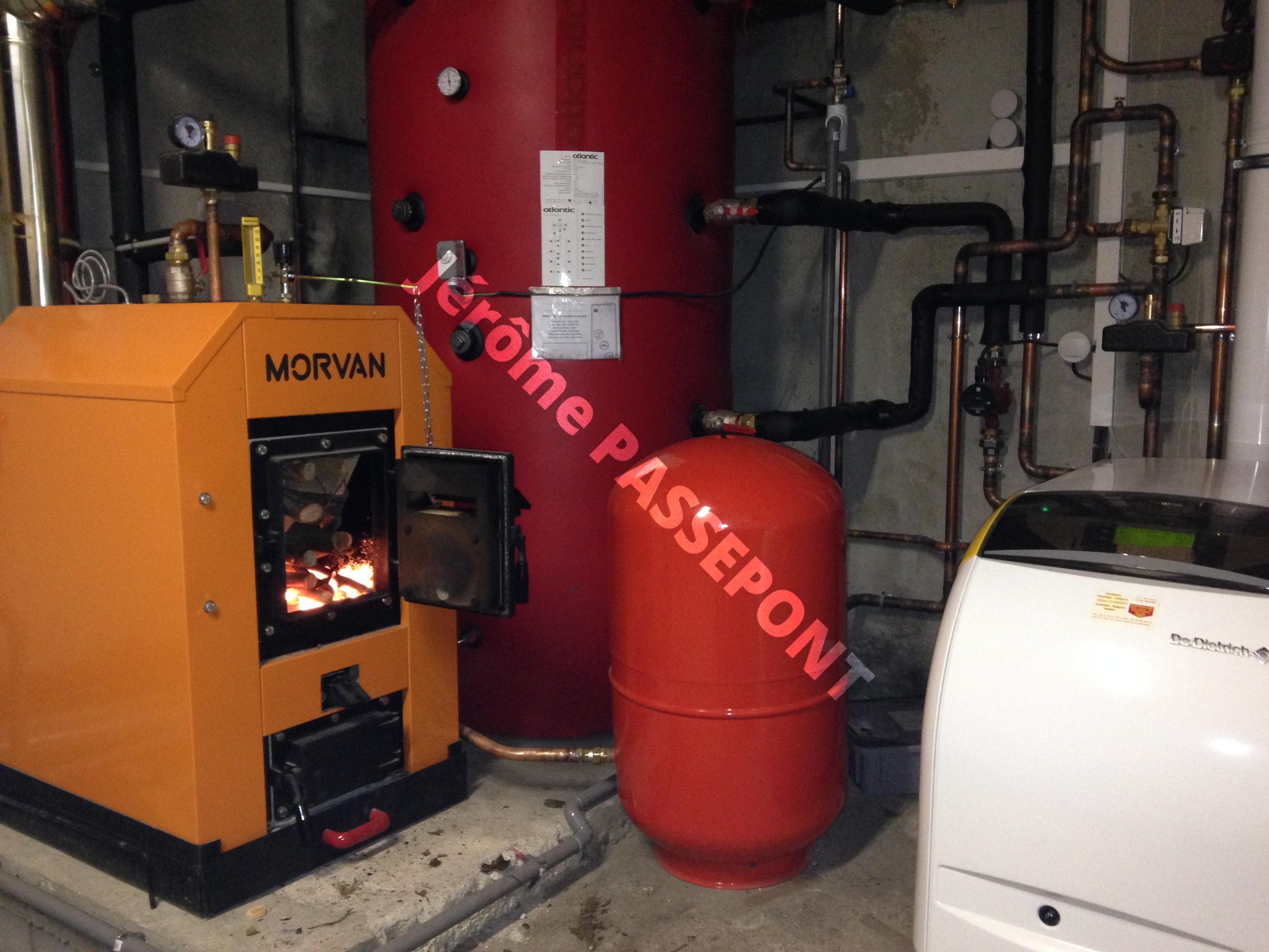 Energies renouvelables isolation couverture zinguerie - Chaudiere fuel condensation ...