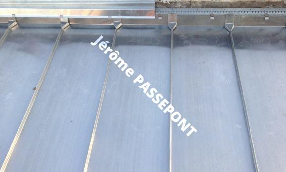 Couverture zinc Jérôme PASSEPONT