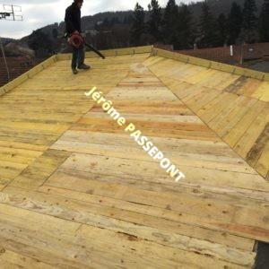 charpente couverture pour isolation sur toiture jerome passepont