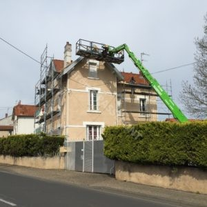 Chantier zinguerie traditionnel Passepont Jérôme